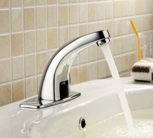 Ordinaire Lightinthebox Deck Mount Solid Brass Auto Sensor Bathroom Sink Faucet With  Automatic Sensor Chrome Bath Tub Faucet Unique Designer Vanity Plumbing  Fixtures ...