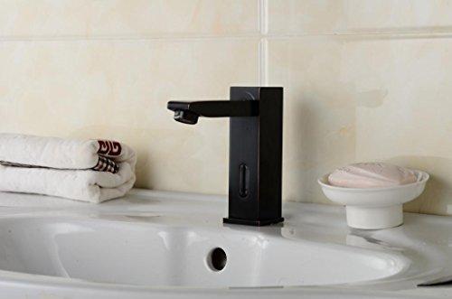 Aquafaucet Automatic Sensor Touchless Bathroom Lavatory Vanity Sink Vessel  Faucet Oil Rubbed Bronze